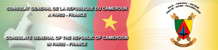 Consulat Cameroun en France